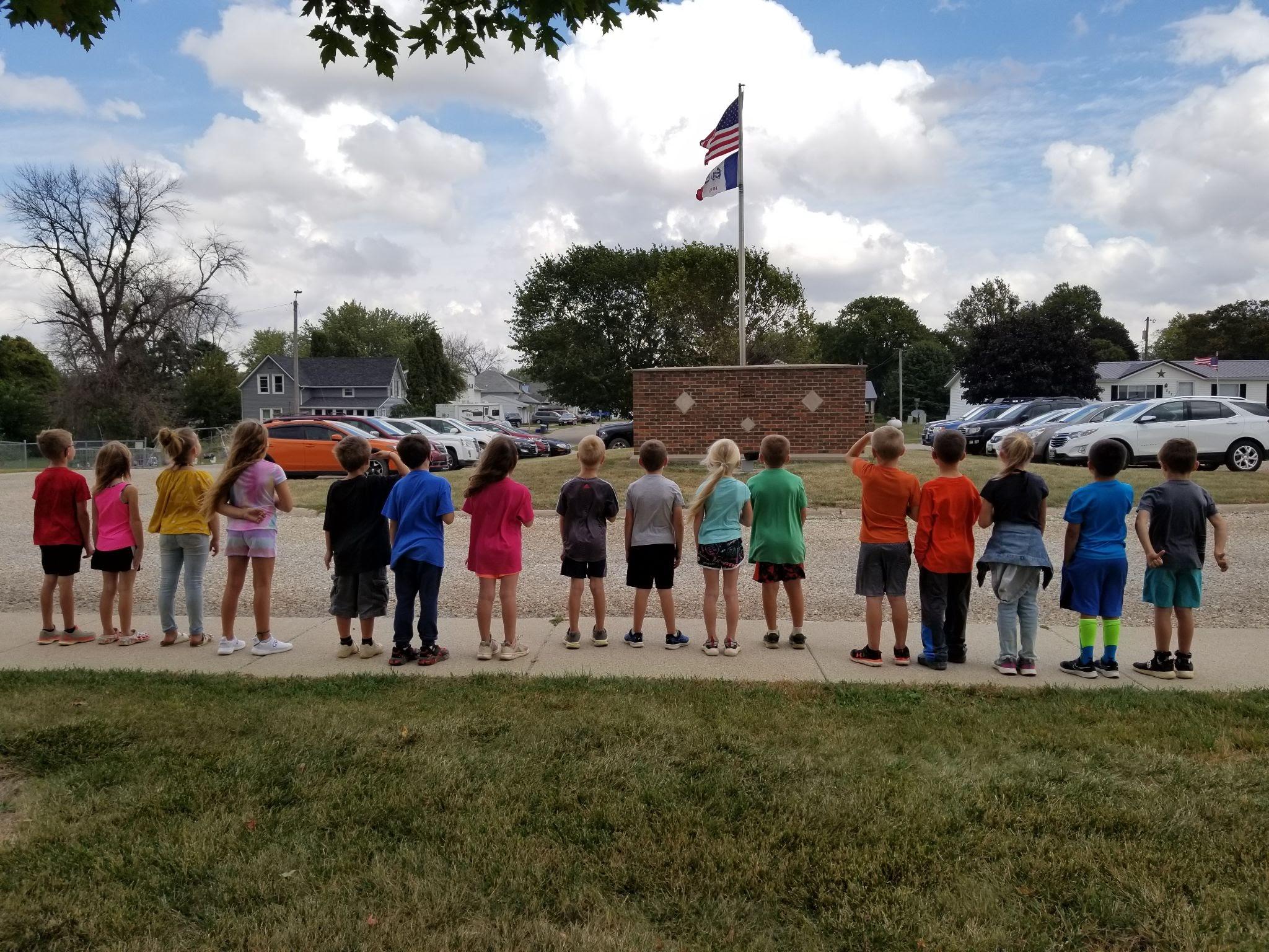 Wheater's 1st Grade Class